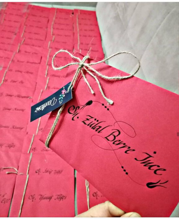 davetiye yazımı, davetiye yazı yazma hizmeti, davetiye yazı fiyatları, el yazısı ile davetiye, kaligrafik davetiye, hat yazılı davetiye