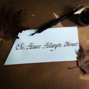 davetiye hat yazı, davetiye kaligrafi yazı, davetiye el yazısı, güzel davetiye yazısı, davetiye yazma fiyatlar