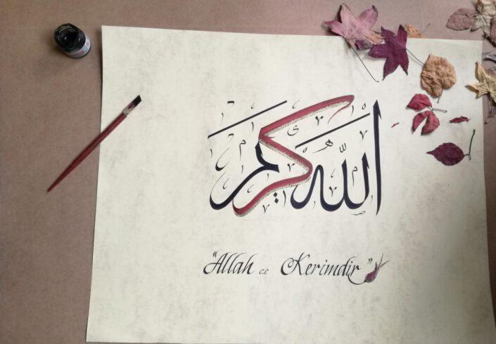 kaligrafi yazılı kağıt, eskitme fon kağıdı kaligrafi, hat yazı eskitme kağıt, kaligrafi kağıtları