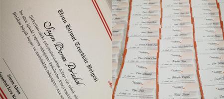 sertifika yazısı, sertifika kaligrafi yazısı, sertifika hat yazısı, sertifika el yazısı